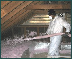 Attic And Radiant Barrier Insulation Indoor